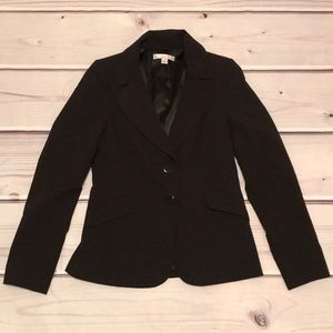 EUC Caslon Black Two-Button Blazer Fully Lined